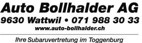 Auto Bollhalder AG, Wattwil